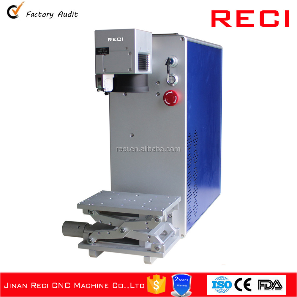 Hot fiber portable metal laser marking machine for silver gold SS CS