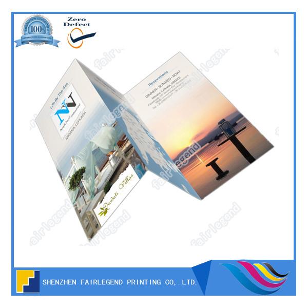 Full Color C-fold Brochure Printing - Buy C-folder Brochure ...