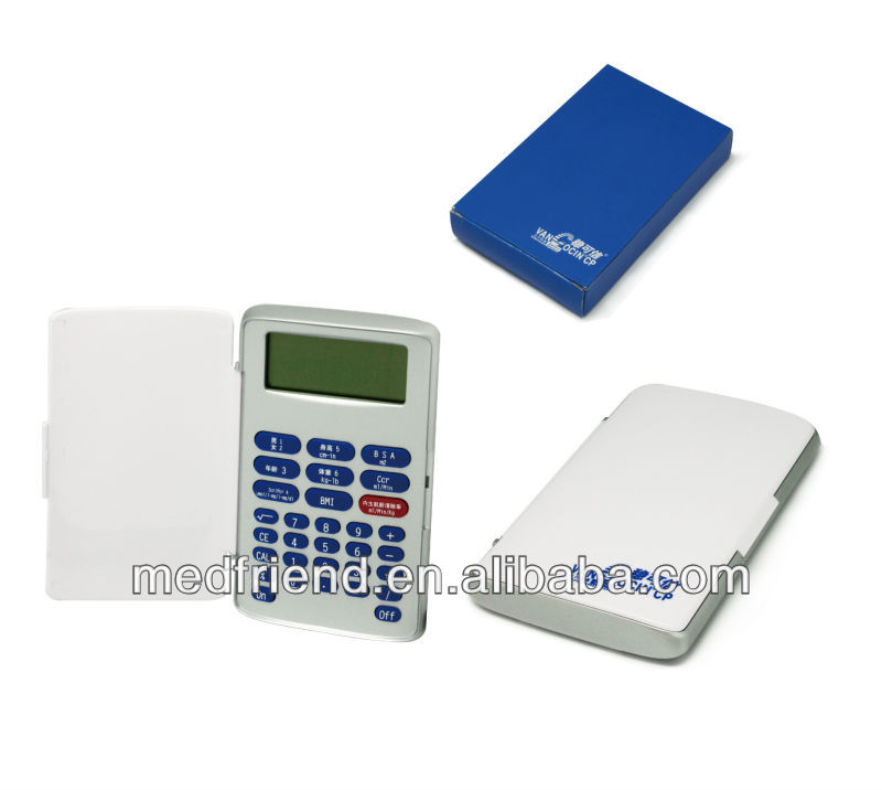 Multi-function Medical Calculator(bsa,Ccr,Egfr,Scr/pcr,Bmi)