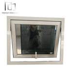 Teeyeo China manufacturer aluminum steel casement windows used louver with concrete moulding design in philippines