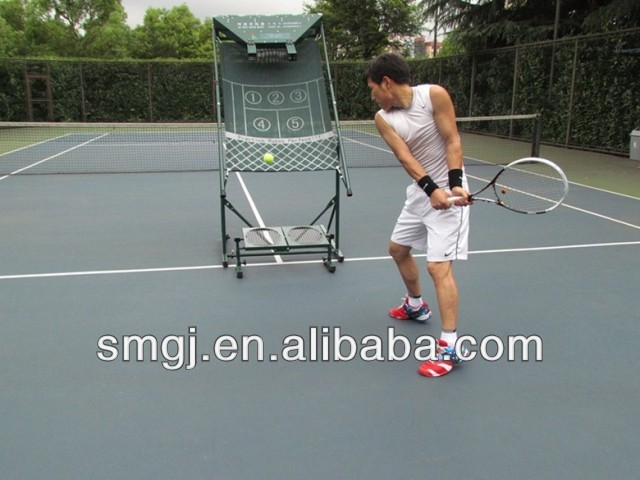 Tennis Ball Pitching Machine Partner Swing Speed Training Machine