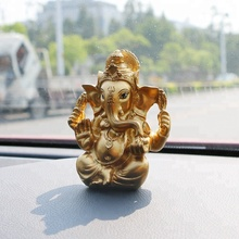 Resina Ganesha Sculture Fengshui Elefante Indiano Figurine, Signore Ganesh Statue Regali <span class=keywords><strong>di</strong></span> <span class=keywords><strong>Nozze</strong></span>, Dio <span class=keywords><strong>Indù</strong></span> Idoli Diwali Decorazione