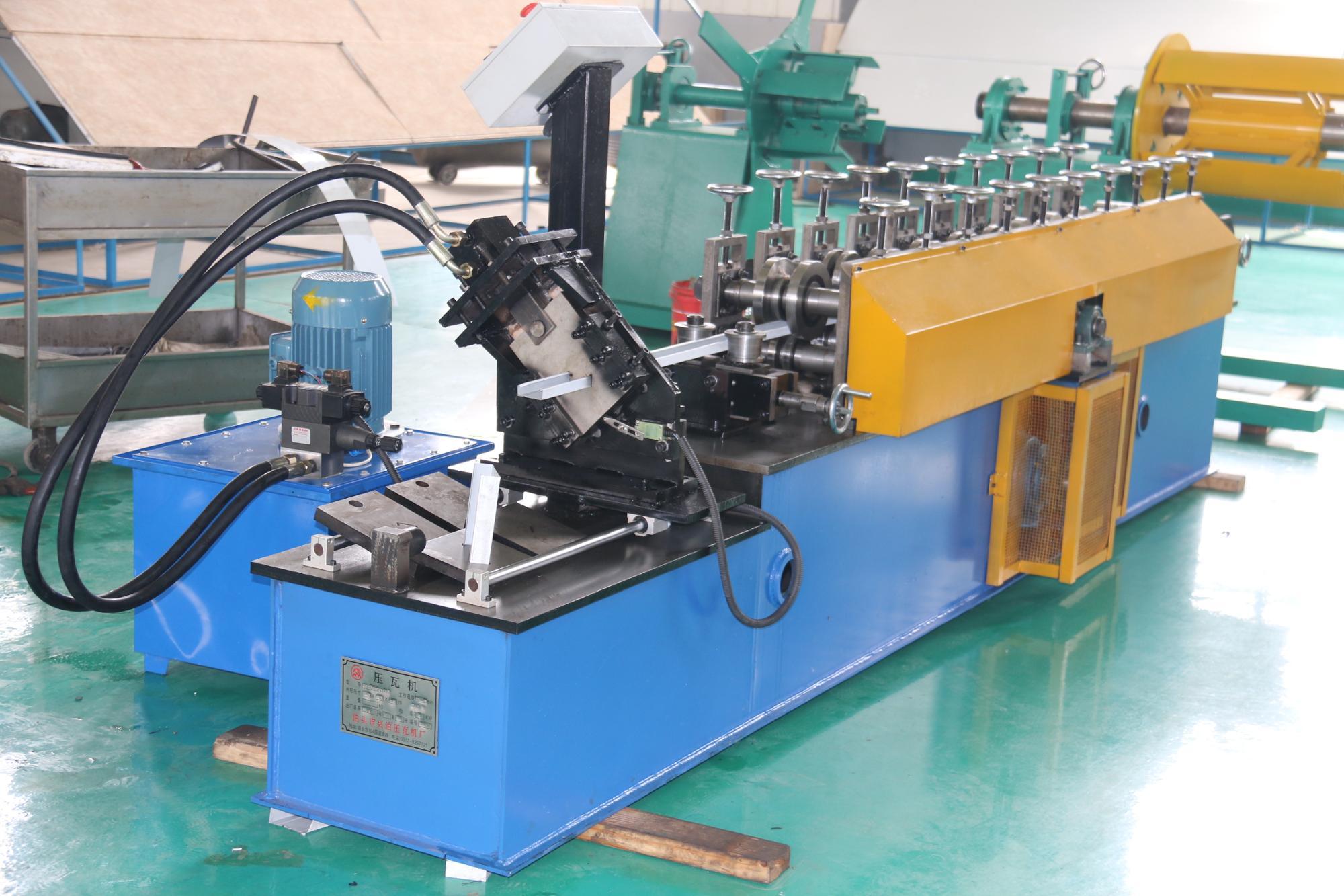 Cnc Bending Metal U Bar Stud Track Making Machine - Buy
