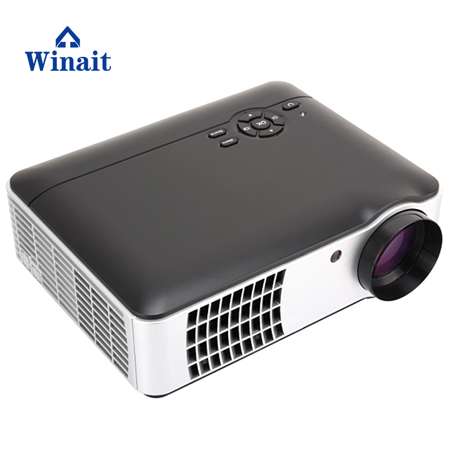 806 Winait 5 pieces of glass lenses Picture Size 50-200 inch led projector with led