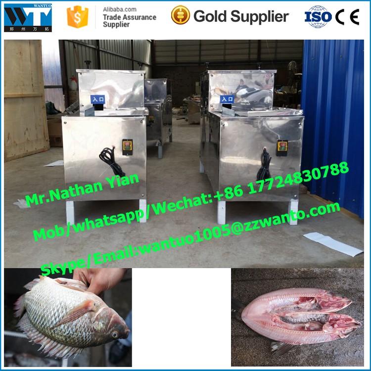 Automatic Fish Killing Gutting Cleaning Machine Fish