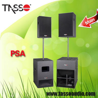Qsc portable pa plastic audio system horn
