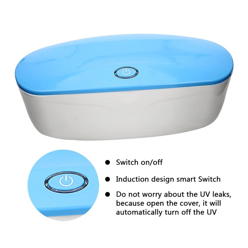 صندوق تطهير محمول يعمل بالأشعة فوق البنفسجية لشحن يو إس بي للألعاب الجنسية