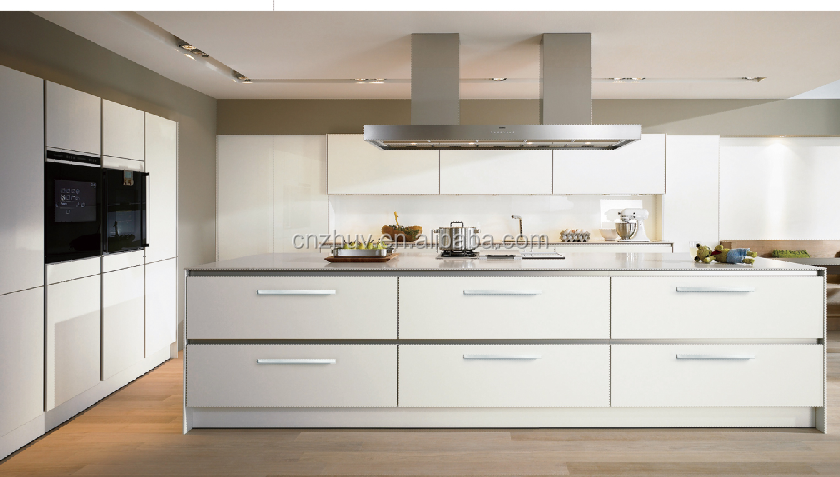 White Pvc Laminate Kitchen Cabinet Door Wholesale, Kitchen Cabinet ...