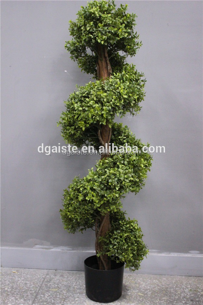 gardening topiary milan grass attached decoration shaped artificial bonsai tree