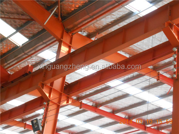professional low cost steel structure design workshop
