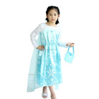 Top Quality Long Sleeve Girl's Fancy Frozen Elsa Dress With Cheap Price