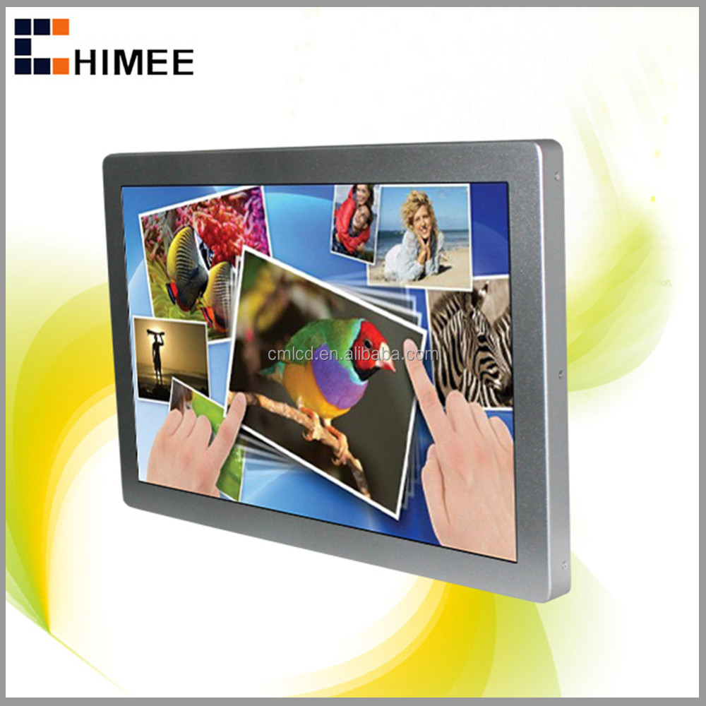 HQ190-4S Indoor lcd 19 inch advertisement screen back mounting bus advertising players