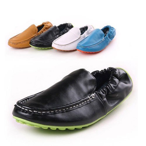 2015 Hot Sale Cow Muscle Solid Espadrilles New Men's Moccasins Casual Pu Flats Shoes Driving Slip On Loafers Xx145 Free Shipping