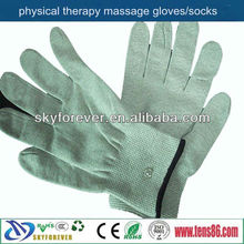 health massage gloves/electric massage gloves for tens/ems units