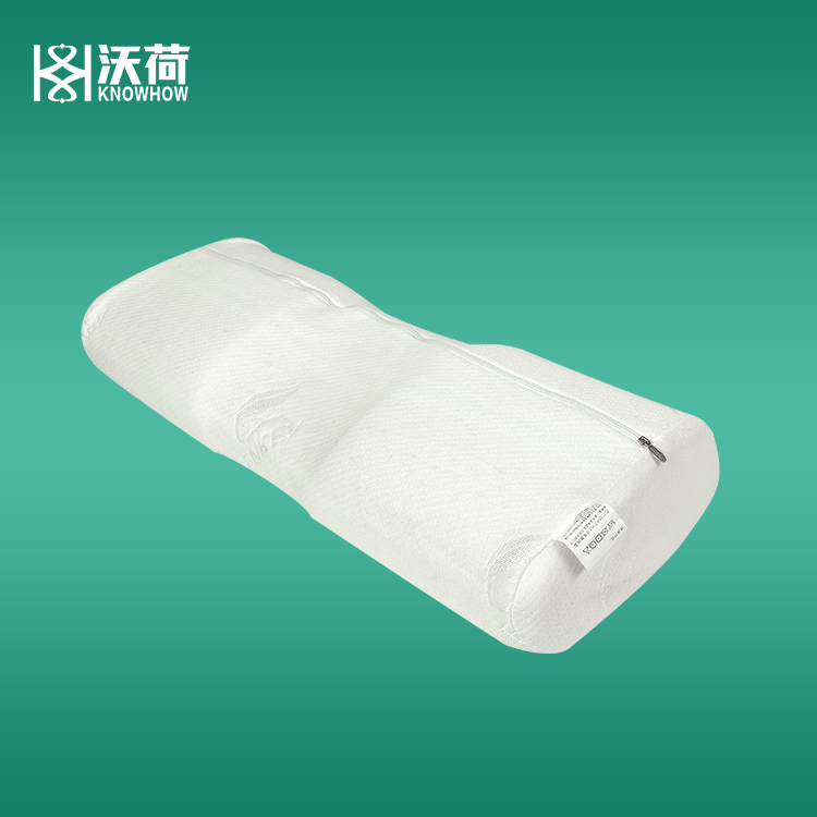 Custom print logo support ultimate travel physiotherapy pillow