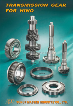 Made in Taiwan transmission gears for HINO heavy truck parts