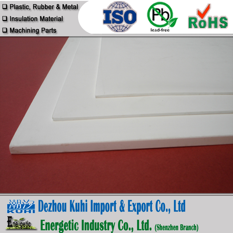 0.5mm-20mm thickness Molded PTFE sheet manufacturer