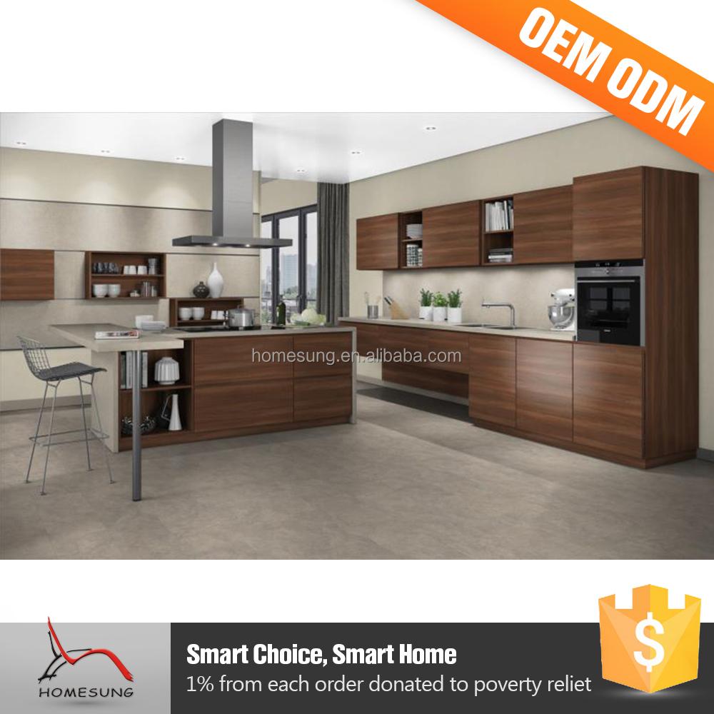 Moderna peque os dise os de cocina talla de madera - Muebles de cocina pequenos ...