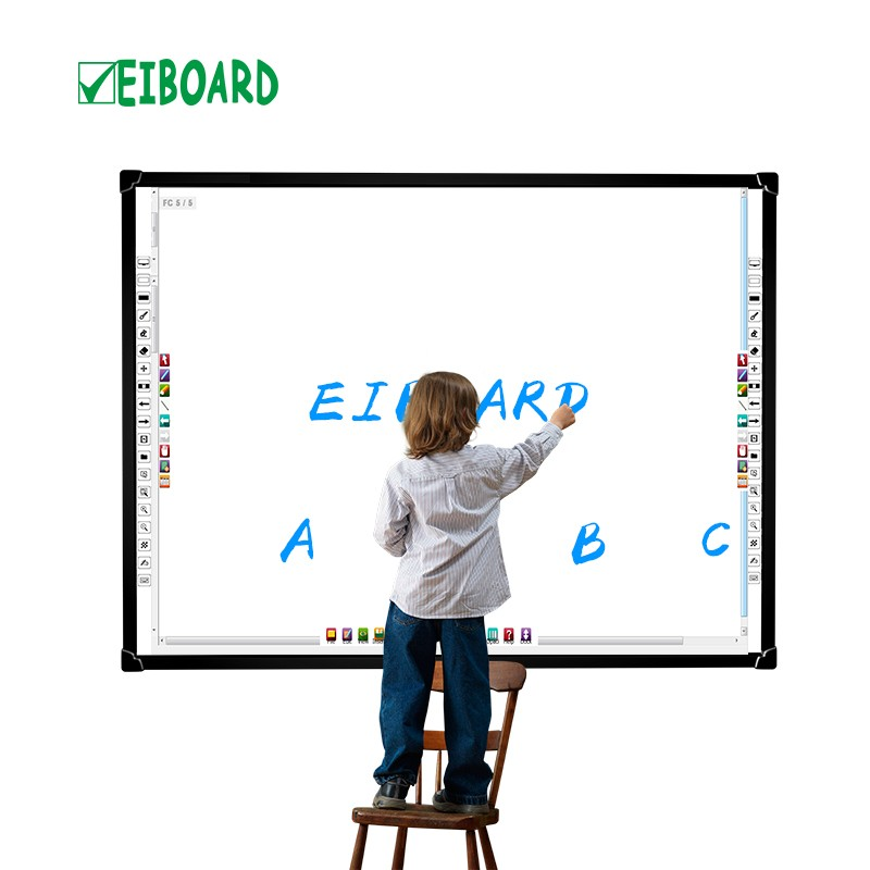 classroom with smartboard clipart - 800×800