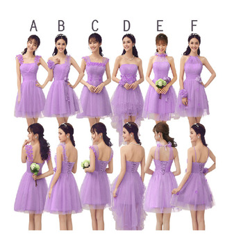 Zh0531h Fashion Various Types Of Dress One Piece Pleated Bridesmaid