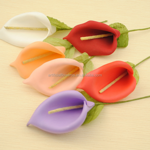 Mini Handmade Calla Lily Foam Flower For Wedding and Scrapbooking
