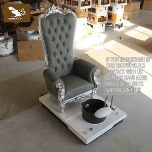 Bomacy modern pedicure king chair with FRP material bowl and base