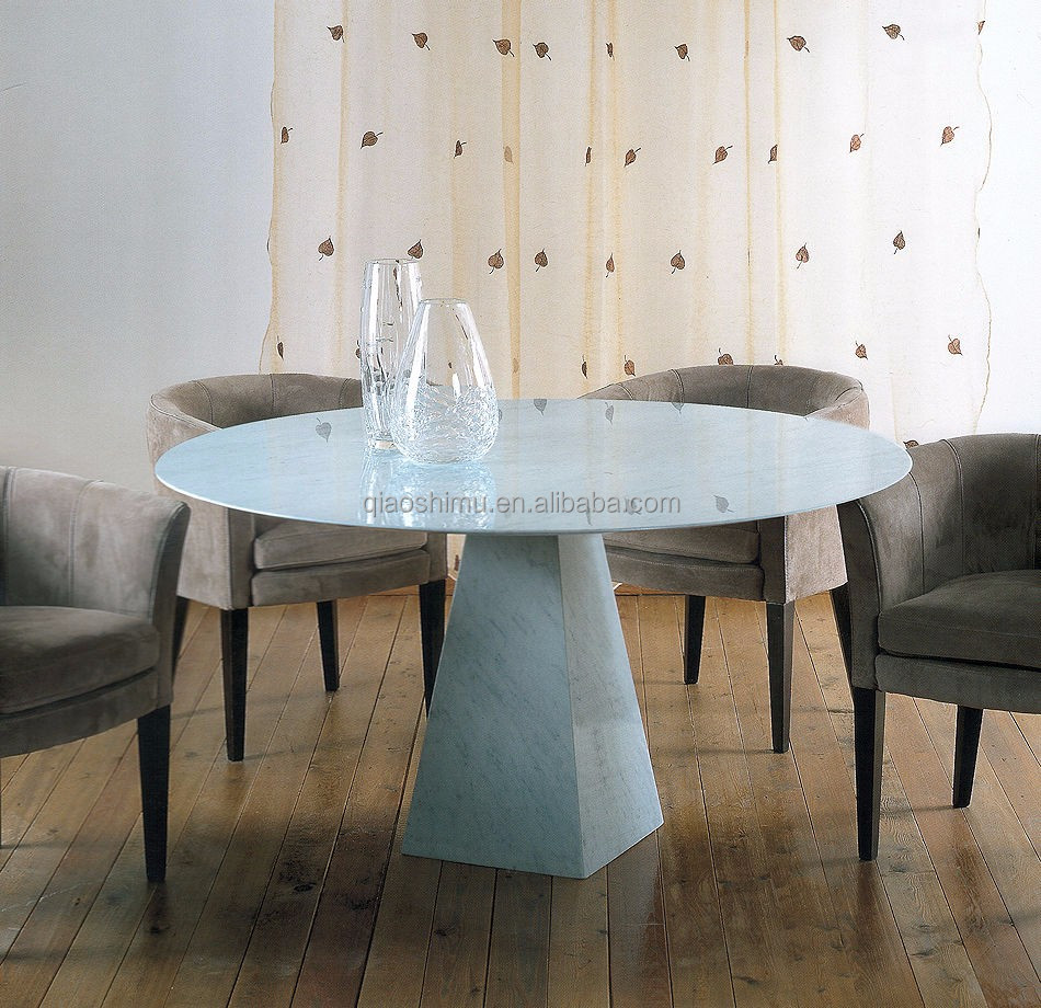 Round Marble Dining Table With Lazy Susan Round Marble Dining