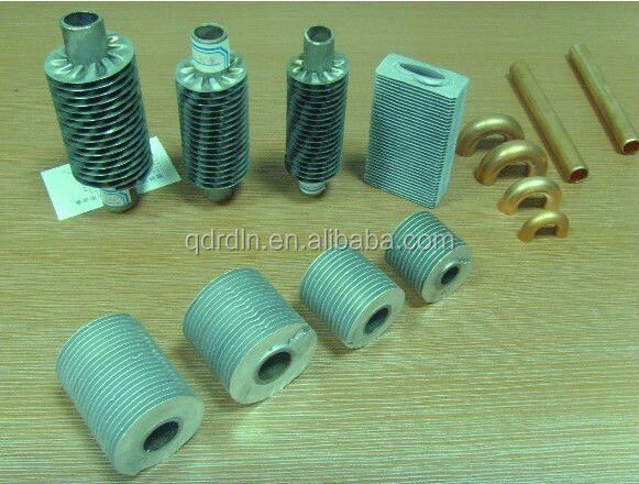Aluminum-extruded-fin-tube-spiral-steel-