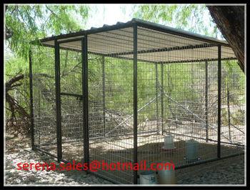 Chine Fabrication Pliante Jardin Extérieur En Métal Oiseau Volière ... e1ddf9dba3b2