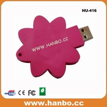 custom flower USB flash drive usb stick