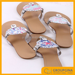 69ffa86ff28a2c Monogram Disc Sandals