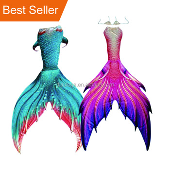 Amazon hot selling cheap swimming mermaid tails swimsuit for 12 year olds  with moderate price b3d7c7e35d