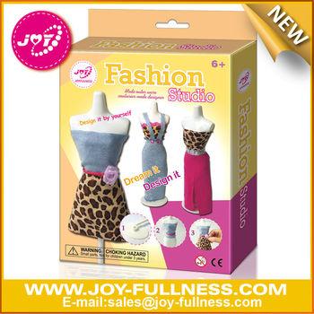 Diy Small Doll Clothes Kit Fashion Design Craft Buy Diy Doll