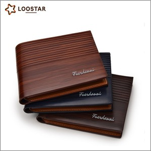 Hot Sale Factory Made High Quality Wood Wallet,PU Leather