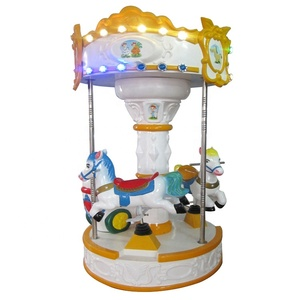 kids carousel rides game machine coin operated kiddie ride for sale