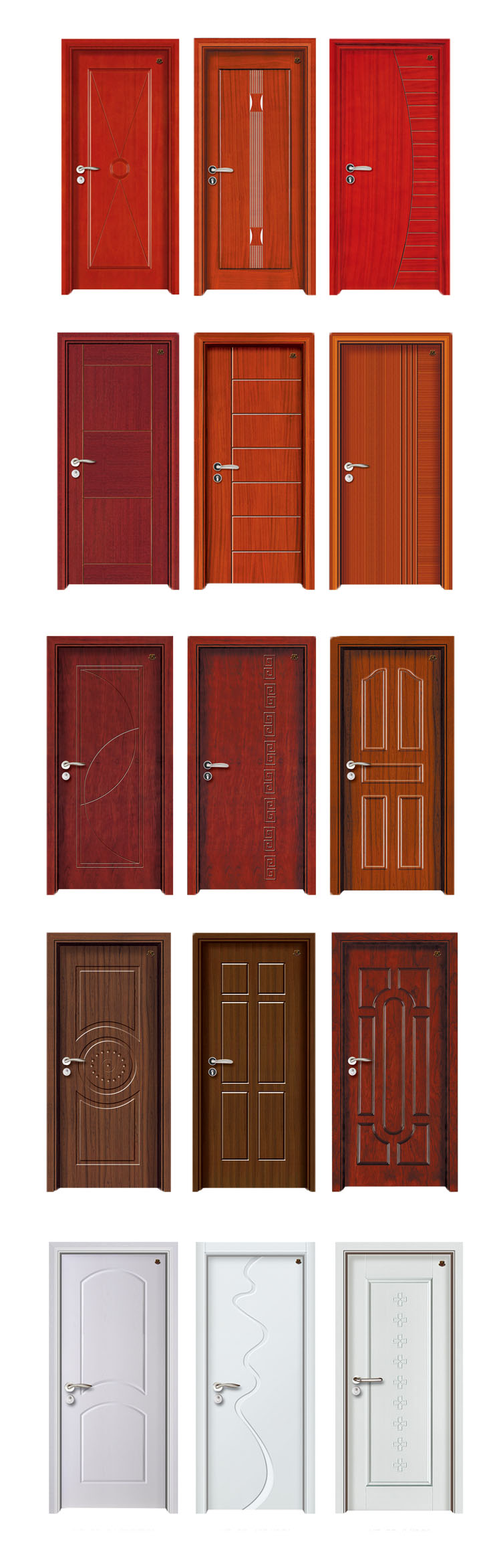Bathroom door design - Pvc Bathroom Door Design Wood Veneer Door Skin Door Front