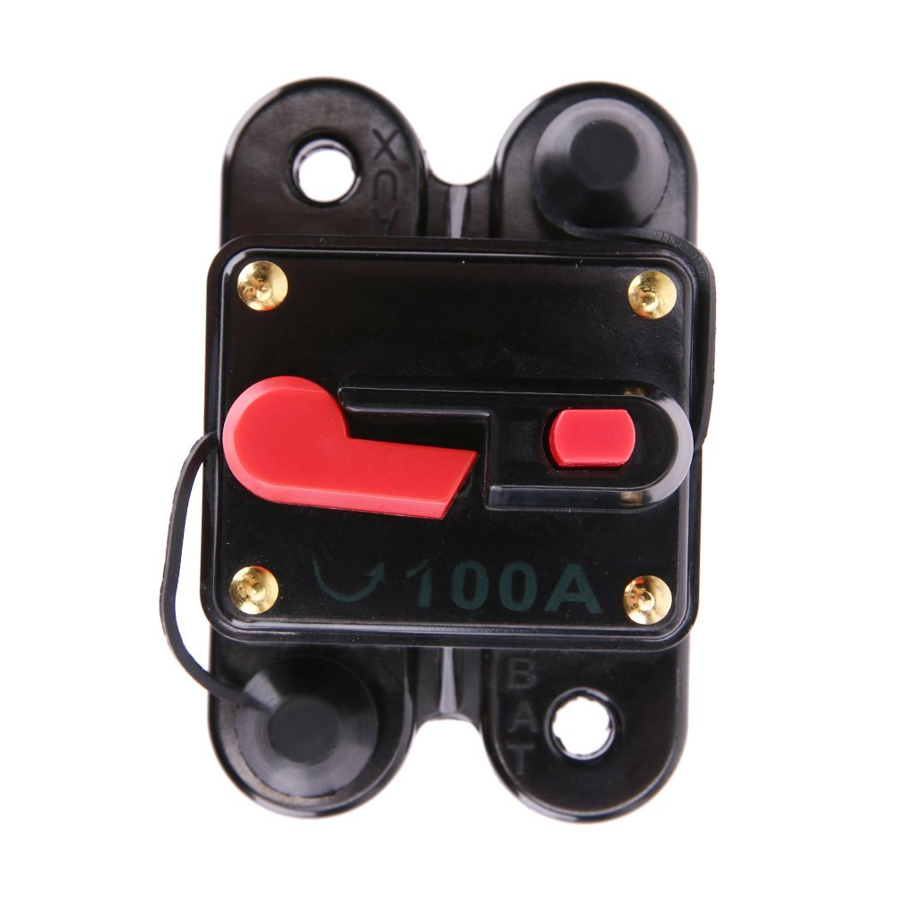 Cheap Fuse Box Circuit Breaker Find Deals Main Get Quotations Car Audio Breakerwinnereco 100a 12v Square Inline For