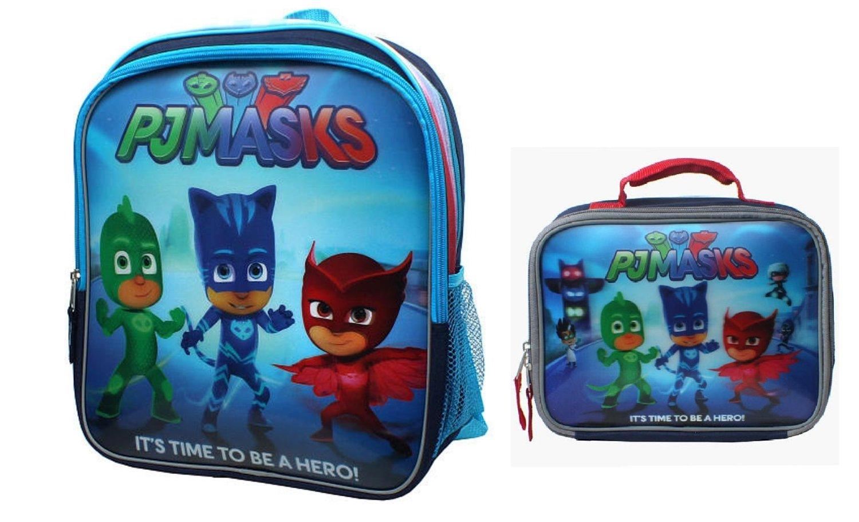PJ MASKS BACKPACK SCHOOL JUNIOR BAG CHILDRENS KIDS BOYS CATBOY OWLETTE GEKKO TD