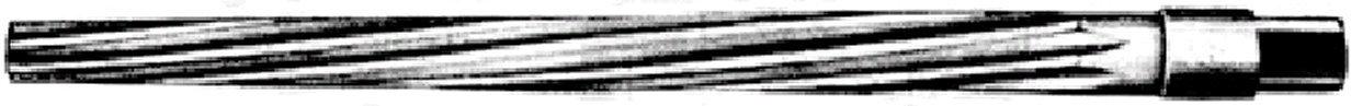 Metric M50MM HSS Taper Pin Reamer Spiral Flute High Speed Steel Ships Free in USA by Aspen Fasteners ASMM22389 1pcs