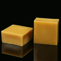2020 Factory supply natural bee candle wax cosmetic food grade block bulk pellets organic beeswax white yellow