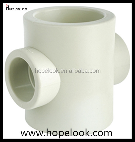 ppr pipe fitting hot and cold water 40*32 mm reducer Cross