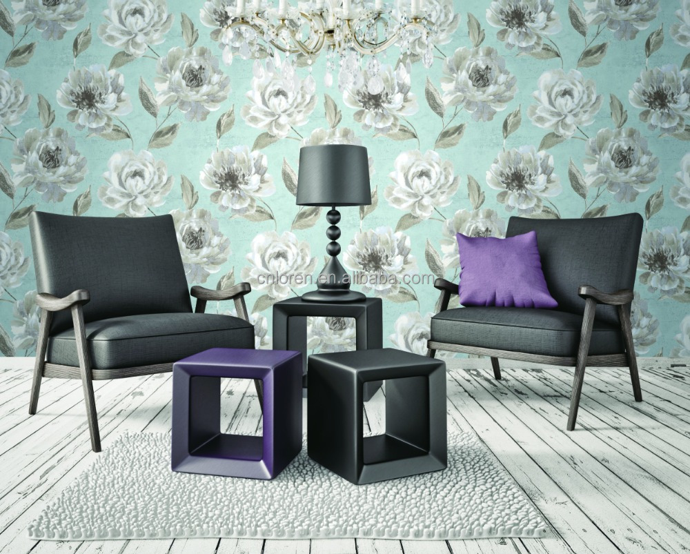 Loren 3d decorative wallpaper for restaurant and TV wall wallpaper (CL-121005)