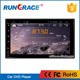 RUNGRACE universal world tech 7 inch 2din android car dvd navigation with bluetooth