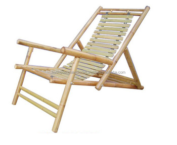 Relaxed Unique Bamboo Chair Natural Hand Made Furniture In Vietnam