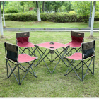 outdoor furniture camping folding picnic table chair set