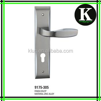 2016 new design high quality zinc door mortise big panel lock handle 9175-305  sc 1 st  Wholesale Alibaba & 2016 New Design High Quality Zinc Door Mortise Big Panel Lock Handle ...