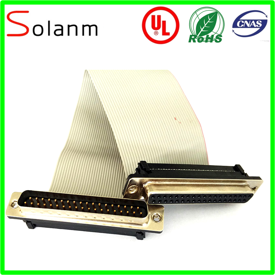 For laptop electronic IDC 10 Pin Flat Ribbon Cable with 2.54mm Pitch
