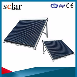 Best efficiency vacuum tube solar collector manufacturers, solar collector heat pipe