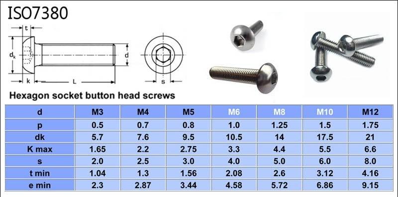 High Standard Iso 7380 Titanium M3 Mini Screw Buy Iso