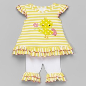 2018 baby girls boutique clothes cute printed summer kids clothing set wholesale children outfits